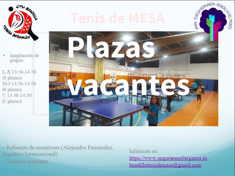 d10bb9cfb7 AAEE – Tenis de Mesa – AMPA Teresa Berganza