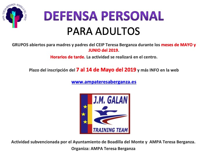 Defensa Personal ADULTOS